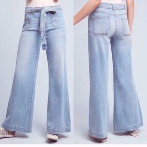 Anthropologie Pilco hi rise jeans. Size 28